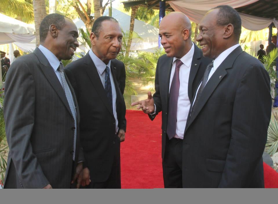 Politiciens haitiens