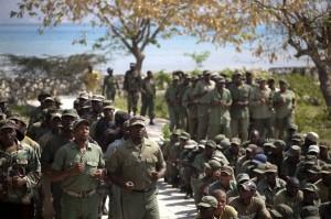 Haiti: Les militaires démobilisés exigent au Président Martelly la remobilisation des FAD'H