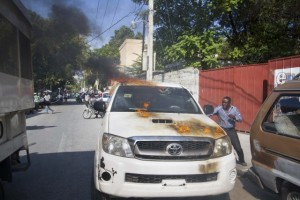 Haiti: Casse, violence, pillage dans la manifestation de l'opposition