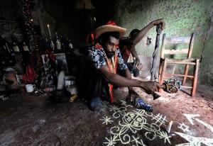 Haitian voodoo priest