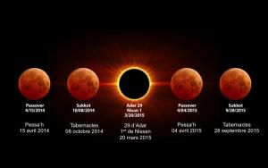 Monde: La 3ème Lune de Sang sera le 1er jour de la Pâque, ce 4 avril 2015