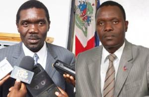 Haiti: Les deux frères Joseph et Wencesclass Lambert candidats au Sénat