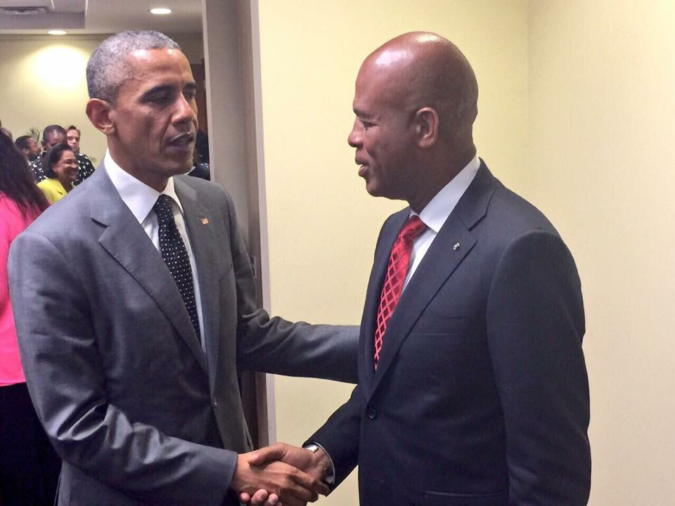 Rencontre obama et michel martelly