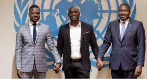 Monde: L'artiste Akon présente son projet d'éclairer l'Afrique aux Nations Unies