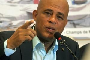 Haiti: Michel Martelly « Nous recevrons nos frères debout, dans la dignité »
