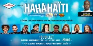 Canada: Soirée-bénéfice HaHaHaïti. On rigole pour Haïti