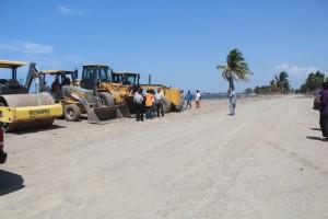 Haiti:  Les travaux concernant le prolongement du Boulevard dans le Nord évoluent