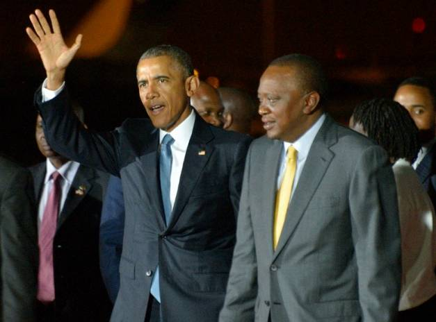 Le président Kényan a dit à Obama l'homosexualité  est un non-sujet pour son pays