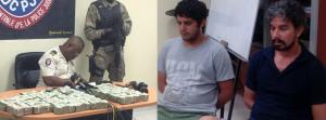 Haiti:  Deux Vénézuéliens à bord d'un véhicule contenant 500 000 dollars US arrêtés