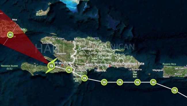 HAITI: Le Gouvernement appelle la population à évacuer
