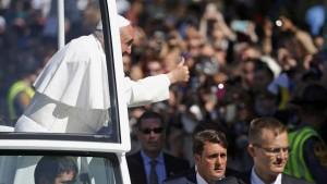 Monde: Le pape François, accueilli en star à New York aux États Unis
