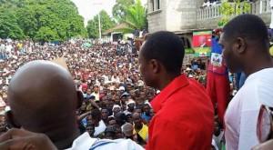Haiti: Moise Jean Charles ouvre officiellement sa campagne dans le Plateau Central