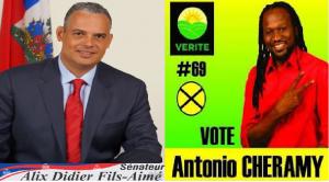 Haiti: Deux candidats au Sénat du parti VERITE affichent ouvertement  leur hostilité