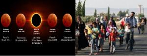 Monde: Prophétie de la Fin des Temps «Les lunes rouges et les migrants syriens»
