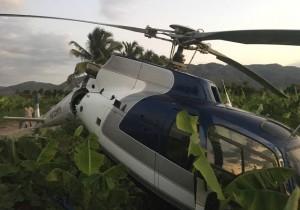 Monde: Ecrasement d'un hélicoptère partant d'Haiti vers la République Dominicaine
