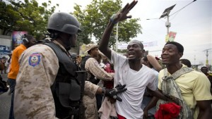 Haïti: Violentes manifestations avant le second tour de la présidentielle