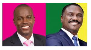 Haïti: Portrait des candidats à la Présidence «Jovenel Moise et  Jude Célestin»