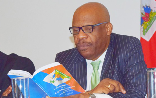 HAITI: Pierre Louis Opont a démissionné