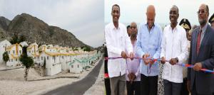 Haiti: Inauguration de 90 unités de logement du projet de Village «Ona-ville»