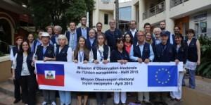 Haiti: Arrivée de la Mission d'Observation Européenne du 2ème tour des élections