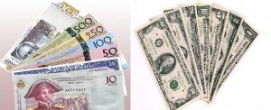 gourde-dollar