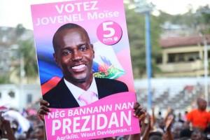 Haiti:  Jovenel Moïse largement en tête selon la firme de sondages Brides
