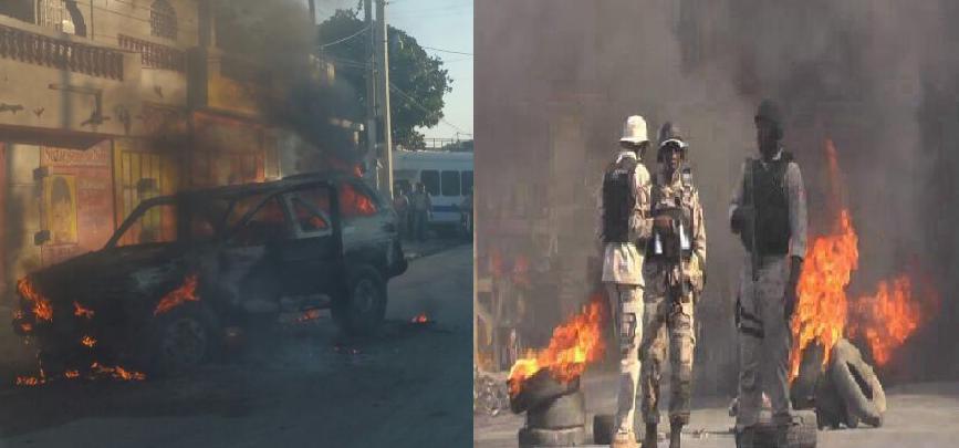 Haïti: Le gouvernement confronté à divers mouvements de protestations violentes