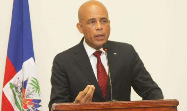 Michel Martelly: je n'accepterai pas de donner le pouvoir…