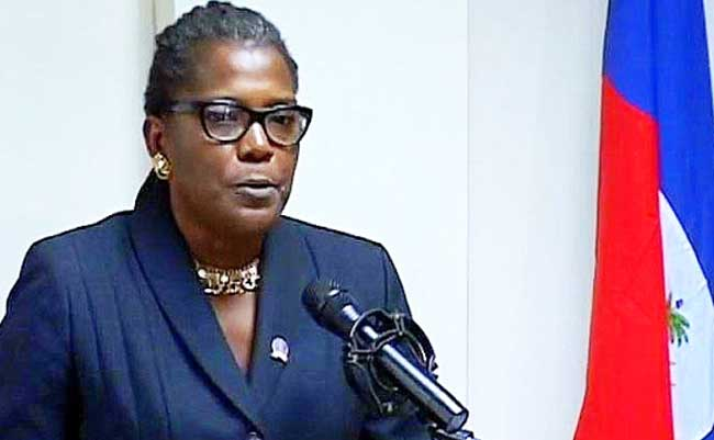 Yolette Mengualactivement recherchée par la Police Nationale