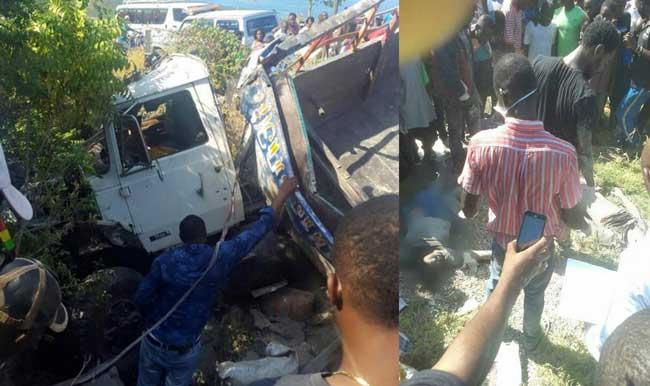 HAITI: Grave accident sur la route reliant Port-au-Prince et Miragoâne, des morts et des blessés