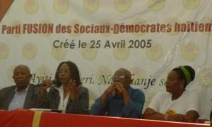 Haiti: Le parti Fusion des sociaux-démocrates décline l'invitation du président Jocelerme Privert