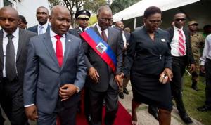 Haiti: La Première Dame visite le chantier de reconstruction de la Faculté de Médecine