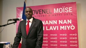 Haiti: Jovenel Moise salue l'arrivée du Président Jocelerme Privert à la tête du pays