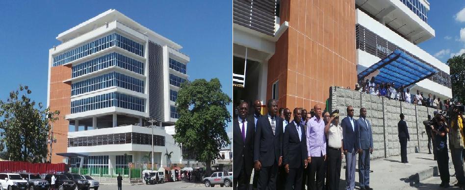 Haiti: Inauguration du bâtiment du Ministère de l\'Intérieur et des ...