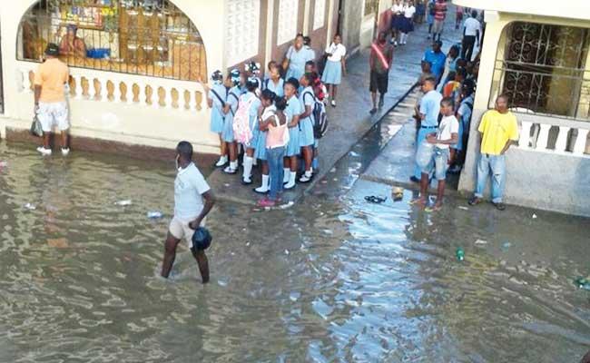 La ville du Cap-Haitien inondée pour une 2e fois en moins d'un mois [ PHOTO ]