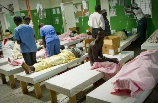 Haiti: La salle de quarantaine au Covid-19 de l'HUEH n'est pas encore fonctionnelle