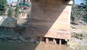 Haiti: Risques d'effondrement du pont de Braches jeté sur la rivière Momance