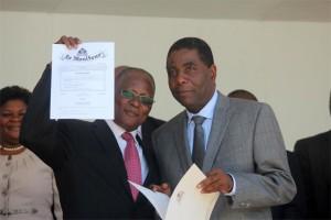 Haiti: Le Président Jocelerme Privert appelle à son PM à faire des corrections urgentes