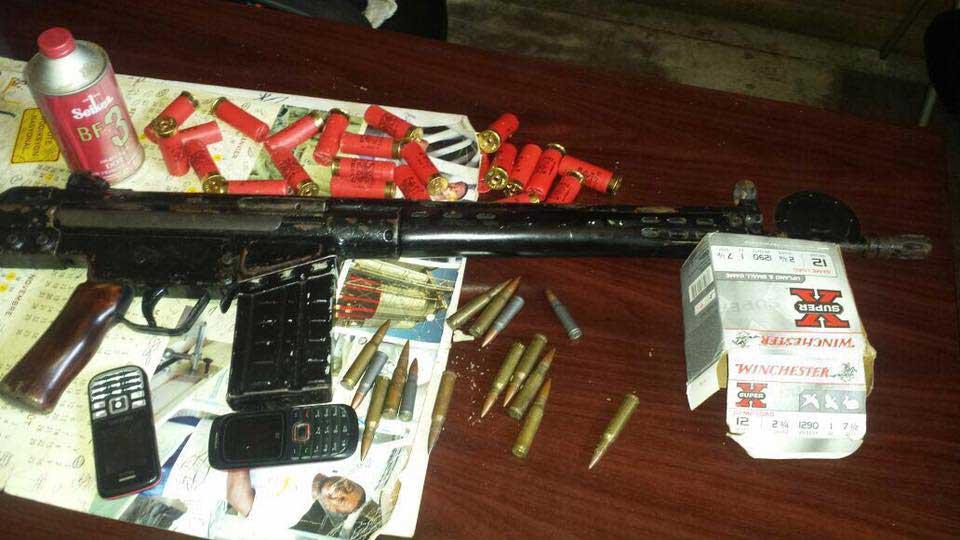 HAITI – Un fusil d'assault retrouvé dans un sac à la gare des Gonaives