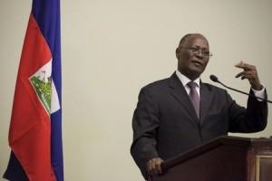 Haiti:  Jocelerme Privert «Pas d'élections avant la fin de mon mandat»