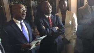 Haiti: Triste expérience pour le Président Jocelerme Privert lors de son périple à New York