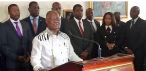 Haiti: Le Président Jocelerme Privert invite la chambre basse au Palais National