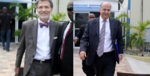 Haiti: Rencontre de Peter F. Mulrean et Kenneth Merten avec des Sénateurs