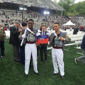 Monde: Un haitien gradué d'une prestigieuse académie militaire américaine attire l'attention
