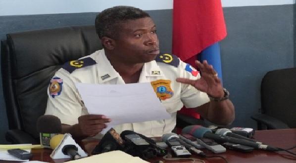 Haïti: Le Commissaire Divisionnaire Frantz Lerebours installé à la Direction du Personnel de la PNH