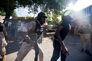 Haiti-Arrestations