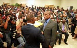 Haïti : Le Président Privert rend le Conseil Électoral, «presque permanent» par intérim…