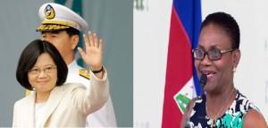 Monde: La Première Dame présente à la cérémonie d'investiture de la Présidente de Taïwan