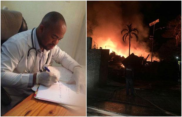 HAITI: Danton Leger annonce une enquête sur l'incendie survenue la nuit dernière au local de HPS ( audio )