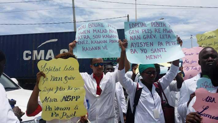 Haiti: Rassemblements probables d'organisations socio-politiques devant l'Hôpital général